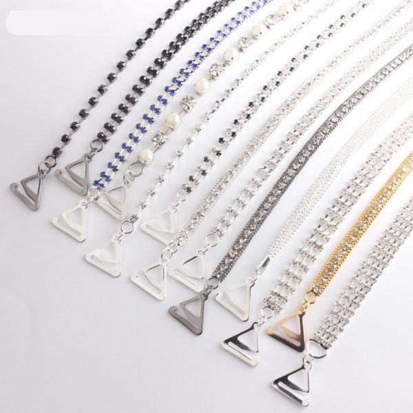 Rhinestone Bra Straps for women